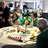 Folks enjoying a breakfast at St. Patricks Church for part of the kick-off of Irish Cultural Week. SUN/ David H. Brow