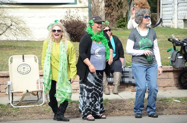 St. Patrick`s Day Parade in Hamilton