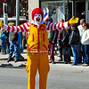 Ronald McDonald was there.