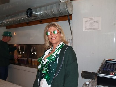 St. Patrick's Day Amber