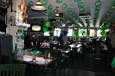 St. Patricks Day Bus