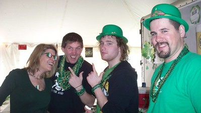 St. Patrick's Day with John