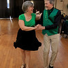 The Fitchburg Senior Center had a Saint Patricks Day Party on Thursday, March 14, 2019. The entertainment was Vinny Prendergast & The Sons of Blarney. they served up a corned beef and cabbage dinner for the party goers. Dancing to the Sons of Blarney is Carolyn and her husband Erik Jarvi of Fitchburg. SENTINEL & ENTERPRISE/JOHN LOVE