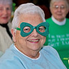 The Fitchburg Senior Center had a Saint Patricks Day Party on Thursday, March 14, 2019. The entertainment was Vinny Prendergast & The Sons of Blarney. they served up a corned beef and cabbage dinner for the party goers. All set for the fun that was going to happen is Joanne Lussier of Fitchburg. SENTINEL & ENTERPRISE/JOHN LOVE