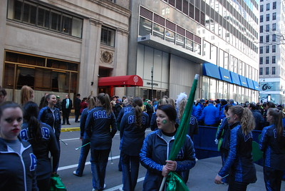 St Patricks day 5th Ave NYC