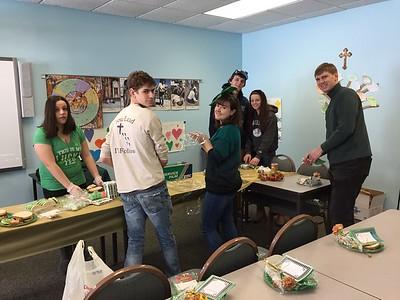 St. Patrick's Meals Prep & Delivery 2017