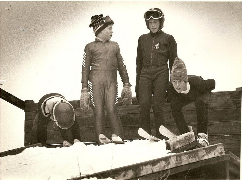1984 Christmas Training Camp:  Jarrett Moe, Jeff Awada, Sean & Darrin Shopbell