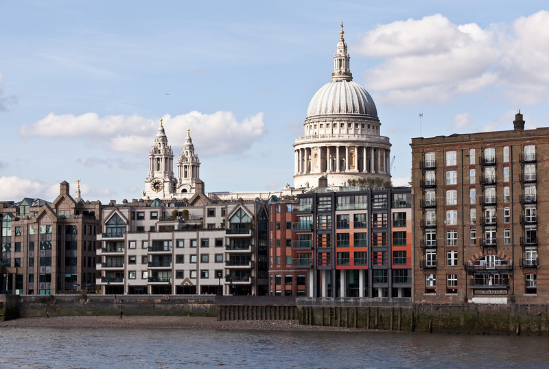 St Paul's Cathedral and The Embankment