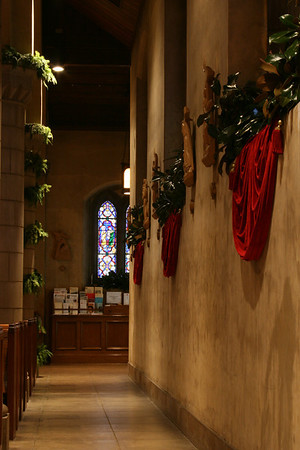 St Pauls Christmas decorations 2009