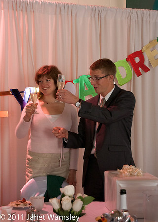 2011 Olya and Andrew Pedersen wedding blessing