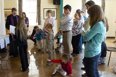 2012 Holy Saturday family service