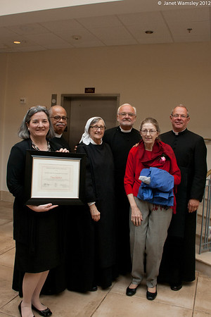 2012 Lettie Pate Whitehead Evans award to Tina Mallett