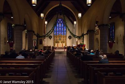 2015 Christmas morning Mass