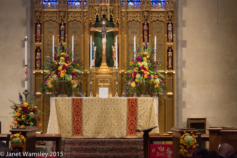 The High Altar Easter morning