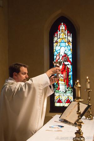Fr. Jeff Hual First Daily Mass