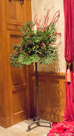 2016 Christmas decorations in place
