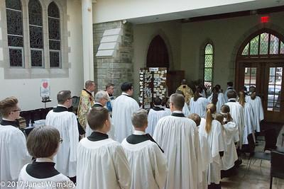 2017 4-30  Sunday chorister rehearsal