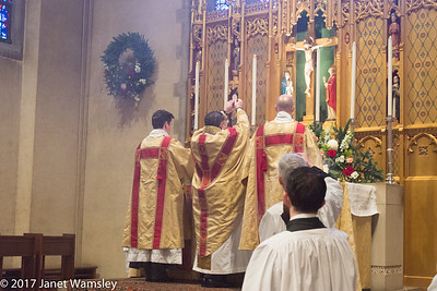 2017 Christmas Day Procession and Mass