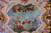 Catherine Palace ceiling fresco.