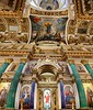 Super wide angle, inside St. Isaac's Cathedral.