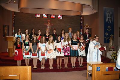 2009-05-27 Eight Grade Graduation