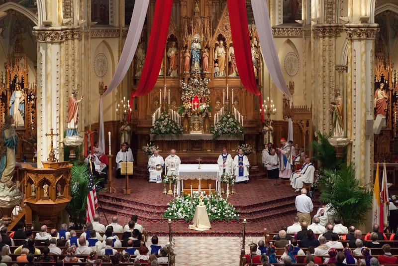 Cardinal Dziwisz - Mass