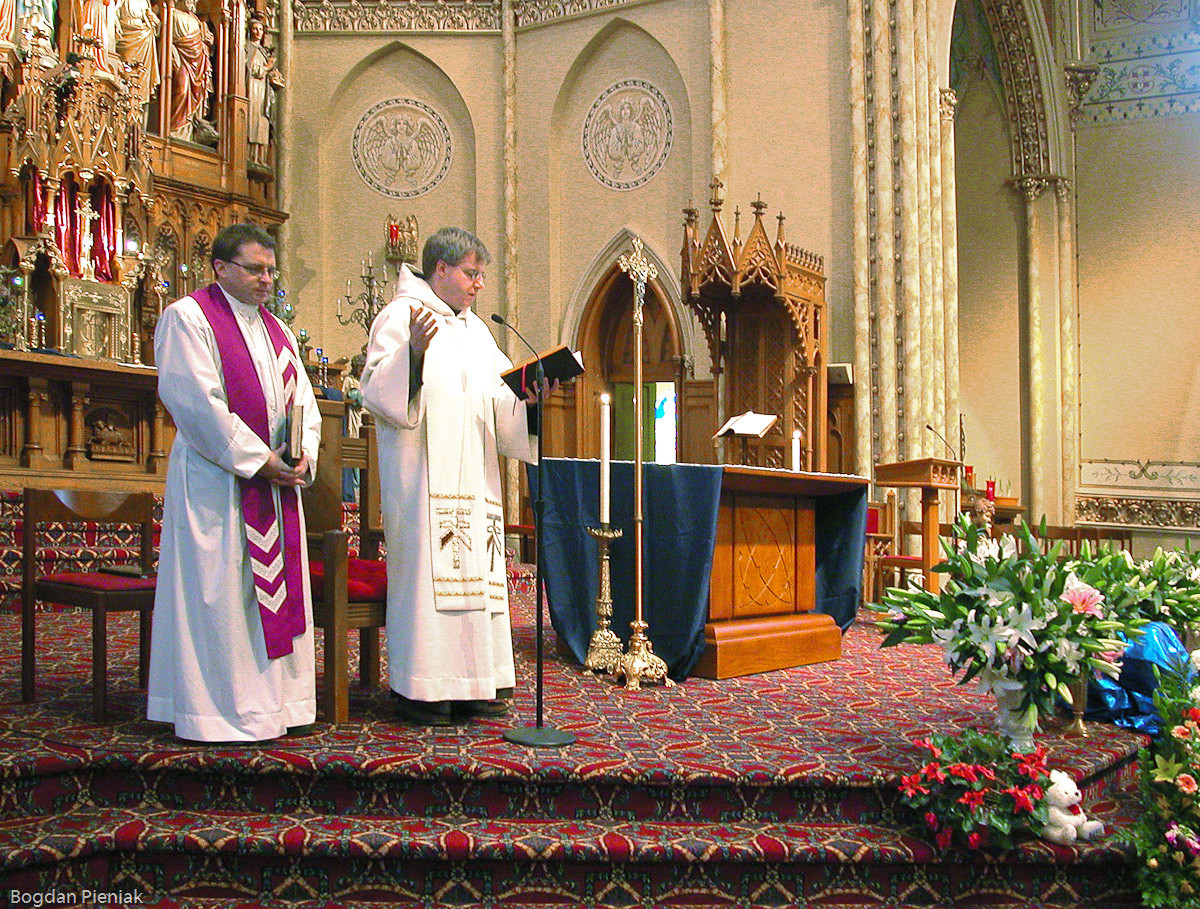 Fr. George Kusy and Fr. Michael Surufka