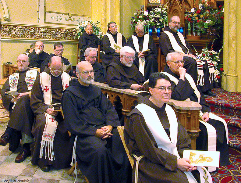 Fr. Williams' brother priests from the Assumption of the Blessed Virgin Mary Province, Pulaski, Wisconsin