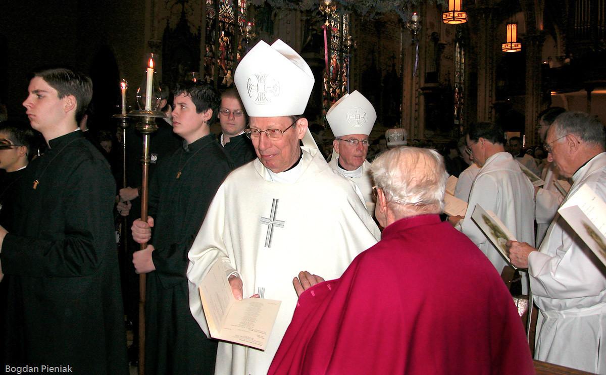 Bishop Edward Pevec and Bishop James Quinn