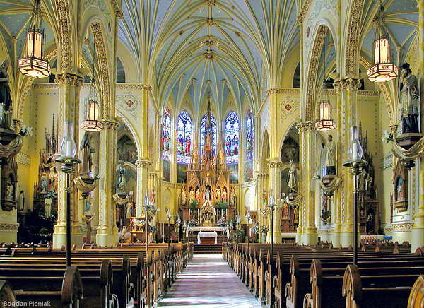 The beauty of St. Stanislaus Church