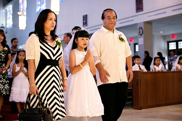 St. Theresa First Communion 2014