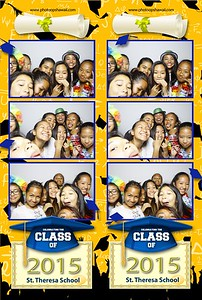 St. Theresa School Graduation (Fusion Photo Booth)