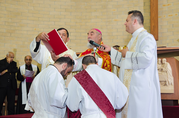 Fr. Bashar Sitto and Fr. Matthew Zetouna Ordination