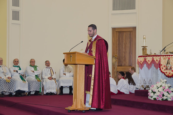 First Mass Fr. Matthew Zetouna
