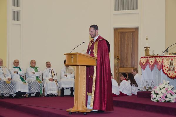 First Mass Fr. Matthew Zetouna