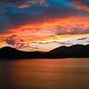 St. Thomas harbor sunset
