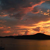 Hassel Island sunset, St. Thomas
