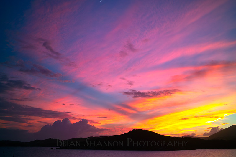 St. Thomas, USVI sunset