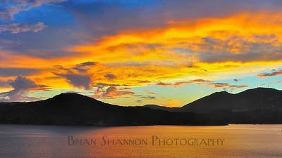 Water Island sunset