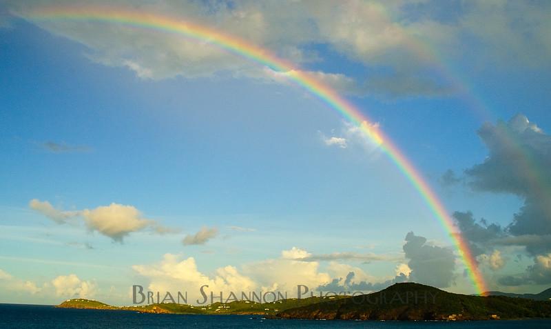 Double Rainbow in St. Thomas