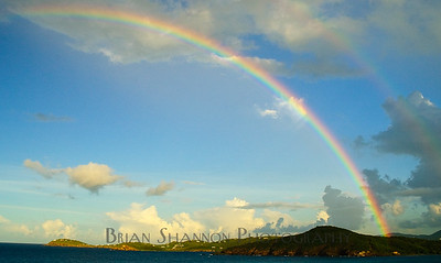 Double Rainbow in St. Thomas