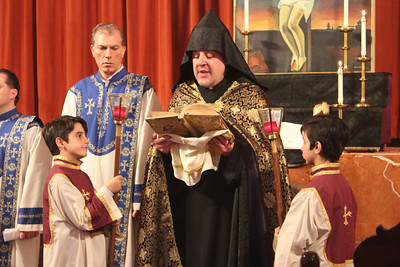 Acolyte Training at St. Vartan Armenian School, Winter 2014