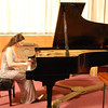 Pianist Karine Poghosyan performs at St. Vartan Cathedral.