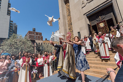 Easter at St. Vartan Armenian Cathedral, New York City, April 16, 2017