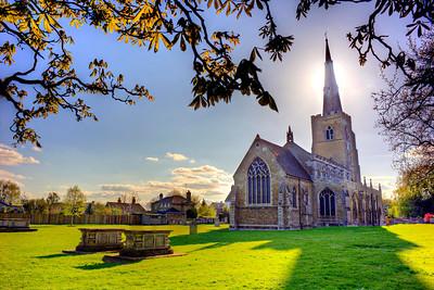 St Wendreda's Church In The Sun
