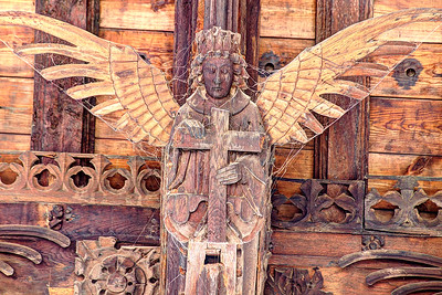Angel Carrying Cross