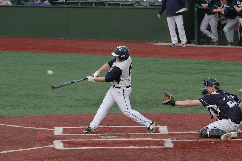 Lynn,. ma. 5-23-17. Tyler Donovan at bat against St. John's Prep