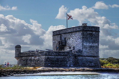 Fort Matanzas by Terry Bottom