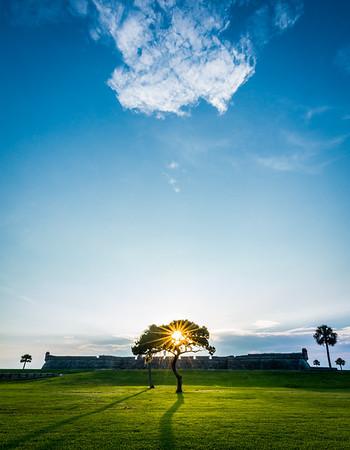 Castillo sunrise by Byron Capo