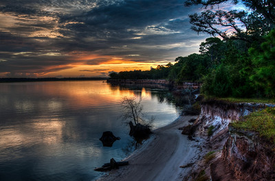 beach-river-sunrise